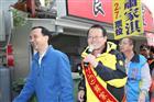 【立委補選】朱主席、蕭家淇於台中黃昏市場掃街